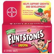 One A Day Flintstones Plus Iron Vitamins