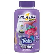 One A Day Kids Trolls Gummies Multi-Vitamin Supplement