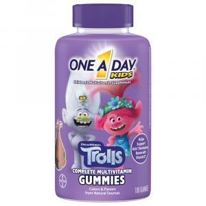 One A Day Kids Trolls Gummies Multi-Vitamin Supplement