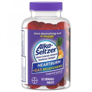 Alka-Seltzer Heartburn + Gas Relief Tropical Punch Chewable