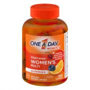 One A Day Women's Vitacraves Gummies 50% More