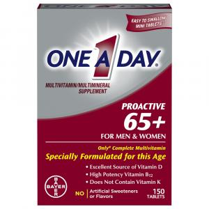One A Day Proactive 65+ for Men & Women Multivitamin