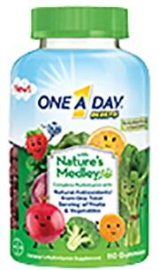 One A Day Nature Medley Complete Multi Vitamin Gummies