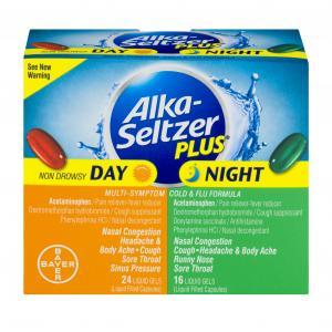 Alka-seltzer Plus Day Night Cold & Flu