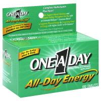 One A Day All Day Energy Vitamins