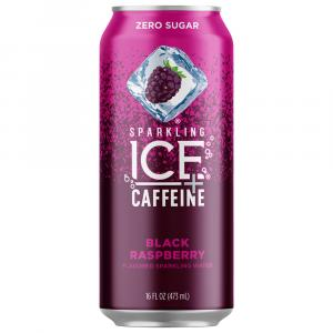Sparkling ICE +Caffeine Black Raspberry