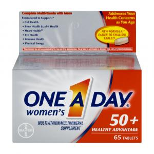 One A Day Womens 50 Plus Healthy Advantage Tablets