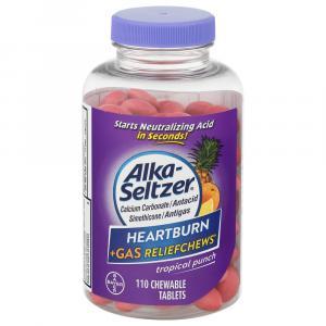 Alka-Seltzer Heartburn + Gas Relief Tropical Punch