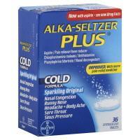 Alka-seltzer Plus Original Effervescent