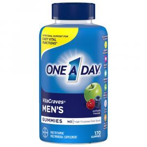 One A Day Men's Vitacraves Multi Gummies