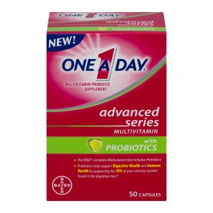 One A Day Advanced Series Multivitamin With Probiotics