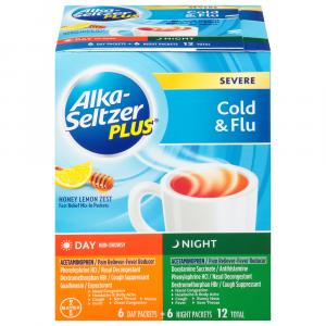 Alka-Seltzer Plus Severe Cold & Flu Day & Night Packets