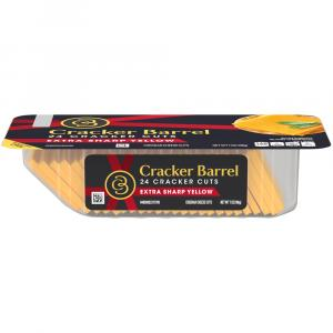 Cracker Barrel Cuts Extra Sharp Yellow Cheddar
