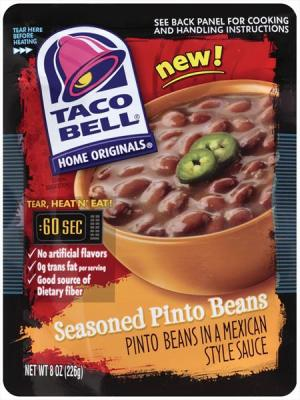 Taco Bell Seasoned Pinto Beans