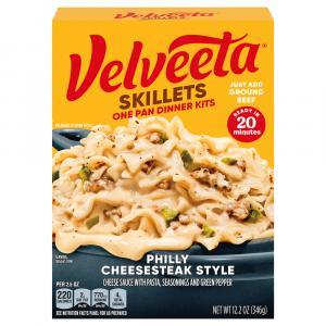 Kraft Velveeta Philly Cheesesteak Cheesy Skillets Dinner Kit