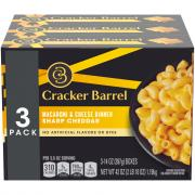 Cracker Barrel Sharp Cheddar Macaroni & Cheese Dinner