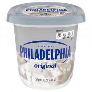 Kraft Philadelphia Cream Cheese Soft Spread Tub