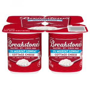 Breakstone's 2% Milkfat Small Curd Cottage Cheese