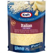 Kraft Italian 5 Cheese Shredded