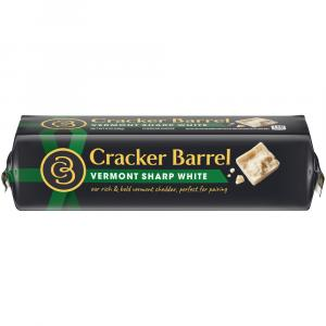 Cracker Barrel Vermont Sharp White Cheddar Cheese