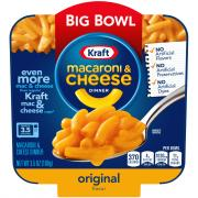 Kraft Original Macaroni & Cheese Big Bowl