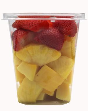 Large Pineapple, Strawberry and Mango Bowl