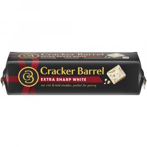 Cracker Barrel Extra Sharp White Cheese