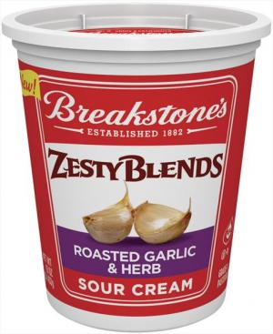 Breakstone's Zesty Blends Roasted Garlic & Herb Sour Cream