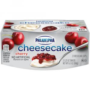 Philadelphia Cherry Cheesecake Ready To Eat