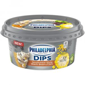 Philadelphia Southwest Style Black Bean & Corn Dip