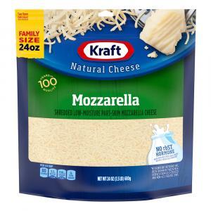 Kraft Part Skim Shredded Mozzarella Family Size