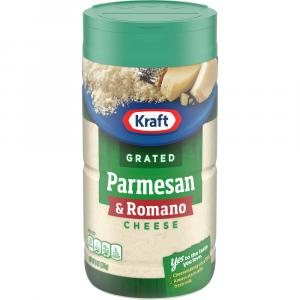 Kraft Grated Parmesan & Romano Blend