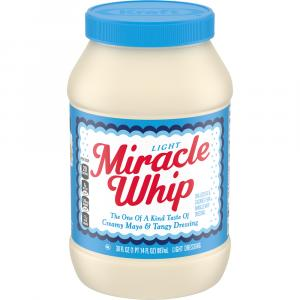 Kraft Miracle Whip Light Salad Dressing