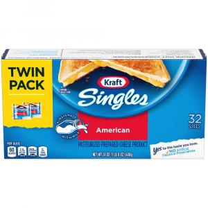 Kraft Singles American Cheese Individually Wrapped