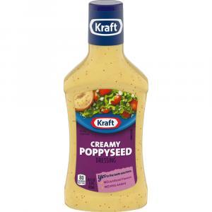 Kraft Creamy Poppyseed Salad Dressing