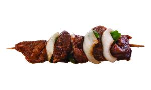 Handcrafted Beef Kabob with Vegetables