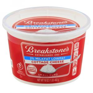 Breakstone's 2% Lowfat Small Curd Cottage Cheese