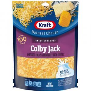 Kraft Finely Shredded Colby & Monterey Jack Cheeses
