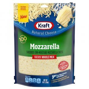 Kraft Whole Milk Mozzarella Cheese