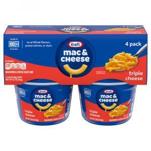 Kraft Macaroni & Three Cheese