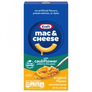 Kraft Original Macaroni & Cheese Dinner With Cauliflower