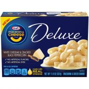 Kraft Deluxe White Cheddar & Cracked Black Peppercorn