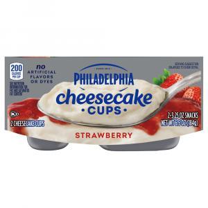 Philadelphia Strawberry Cheesecake Ready To Eat