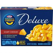 Kraft Deluxe Sharp Macaroni & Cheese Dinner