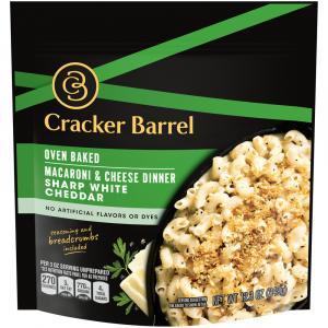 Cracker Barrel Oven Baked Macaroni & Cheese Dinner