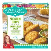 The Pioneer Woman Zucchini Chips with Sweet & Sour Sauce