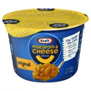 Kraft Easy Mac Cups