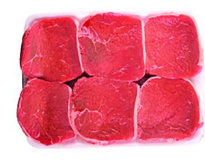 Usda Choice Beef Eye Round Steak Family Pack