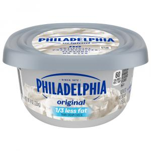 Kraft Philadelphia Light Soft Cream Cheese Tub