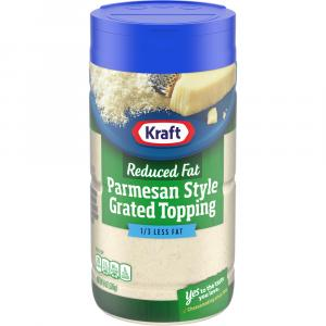 Kraft Grated Reduced Fat Parmesan Cheese